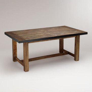 Clayton Extension Table Modern Dining Tables World Market 700 Rustic Dining Room Table Rustic Dining Room Modern Dining Table