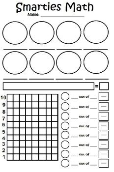 Smarties Math Practice Math Games For Kids Math Practices Math