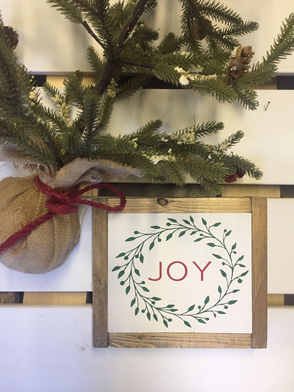 Joy sign christmas sign christmas decor christmas decorations