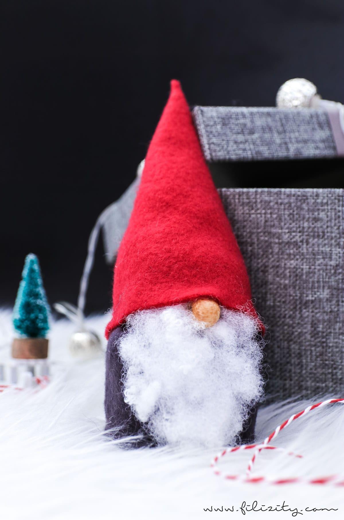 wichtel basteln ohne n hen s e weihnachtsdeko und. Black Bedroom Furniture Sets. Home Design Ideas