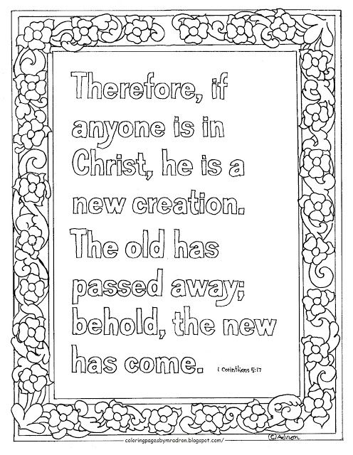 coloring pages for kids by mr. adron: printable coloring page, new ... - Creation Coloring Pages Printable