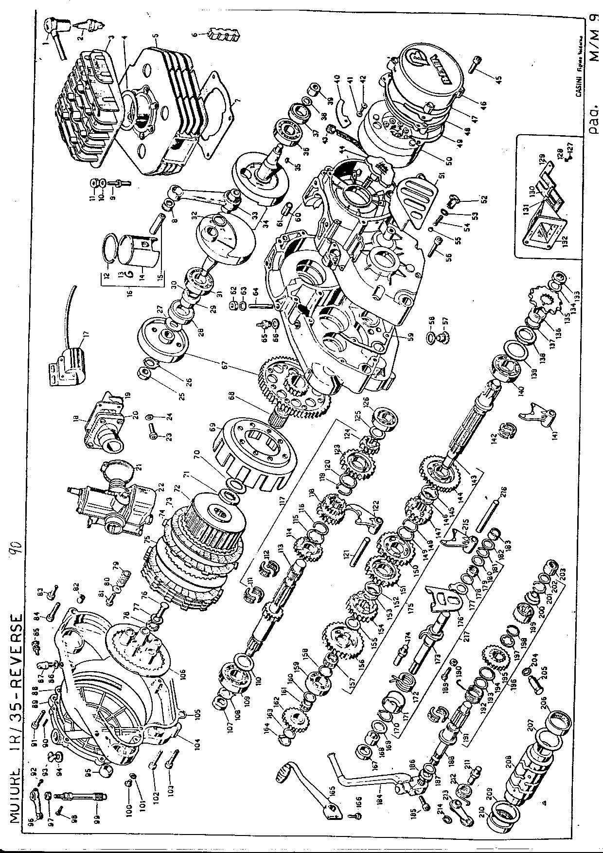 Beta TR35 Reverse 260 1990 Parts List PDF Download