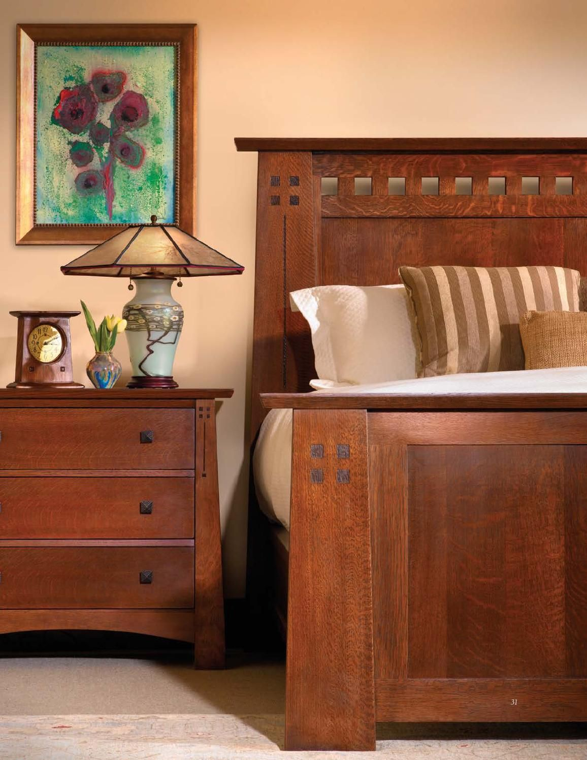 Stickley Mission Oak Cherry Collection By Issuu
