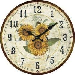Orologio da parete 34cm appendere muro orologio shabby chic orologi da parete orologio muri - Orologi da cucina thun ...