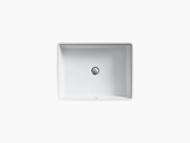 K 2882 Verticyl Undermount Rectangular Sink Kohler Rectangular Sink Small Undermount Bathroom Sink Undermount Bathroom Sink