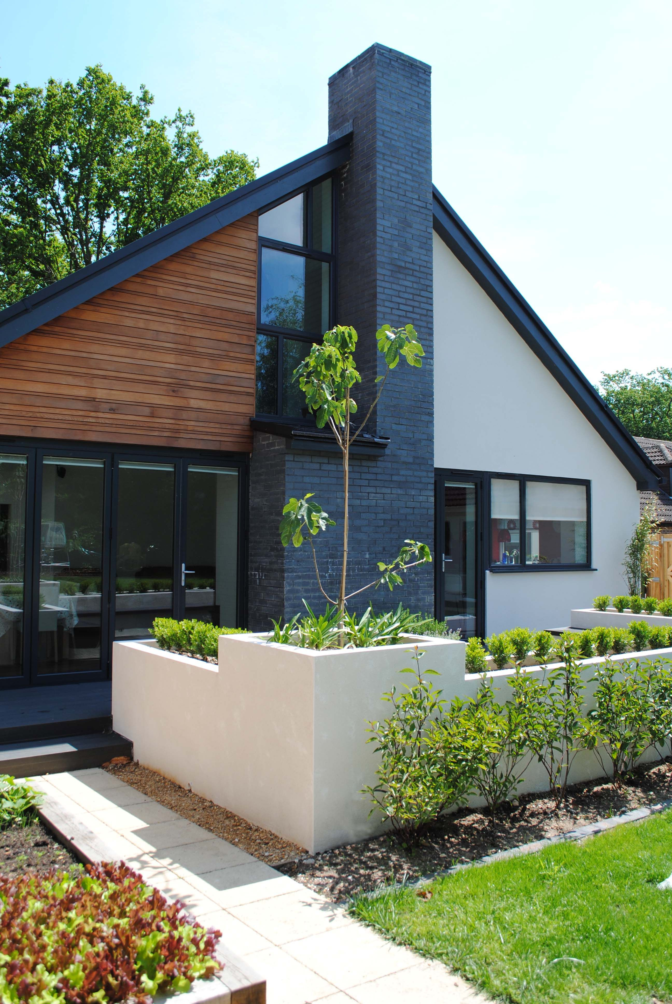Contemporary Chalet Bungalow Conversion by LA Hally Architect ...