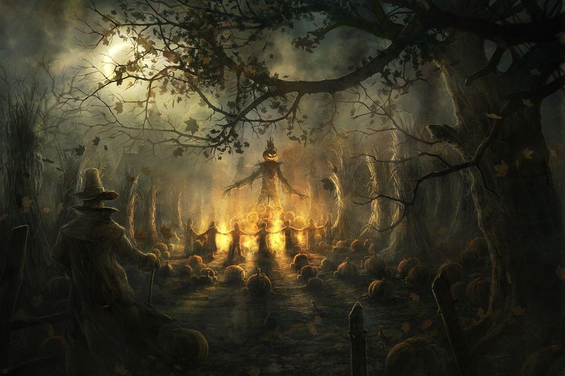 Funny Halloween Screensavers 1366x768 Px Hd Desktop Wallpaper Halloween Scarecrow Horror Halloween Desktop Wallpaper Halloween Scene Halloween Pictures