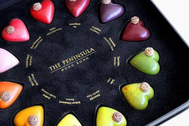 The Peninsula Limited Edition Valentine S Day Artisanal Chocolates Detail Artisan Chocolate Chocolate Art Chocolate