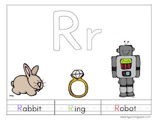 حرف R للاطفال اوراق عمل على احرف اللغة الانجليزية Activities For Kids Lettering Activities