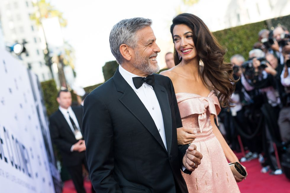 Amal Clooney Just Gave Her First Speech About George And