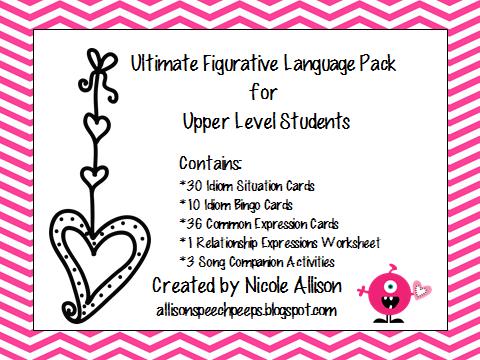 Higher level language skills speech goals