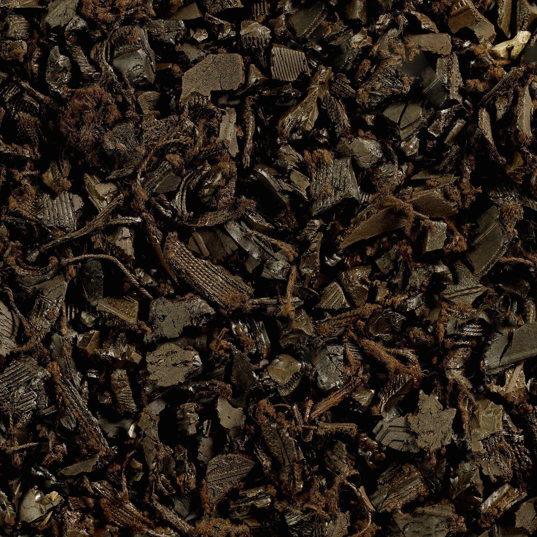 Groundsmart Rubber Mulch Mocha Brown 76 9 Cu Ft Super Sack Assorted Sizes Rubber Mulch Mulch Mulch Landscaping