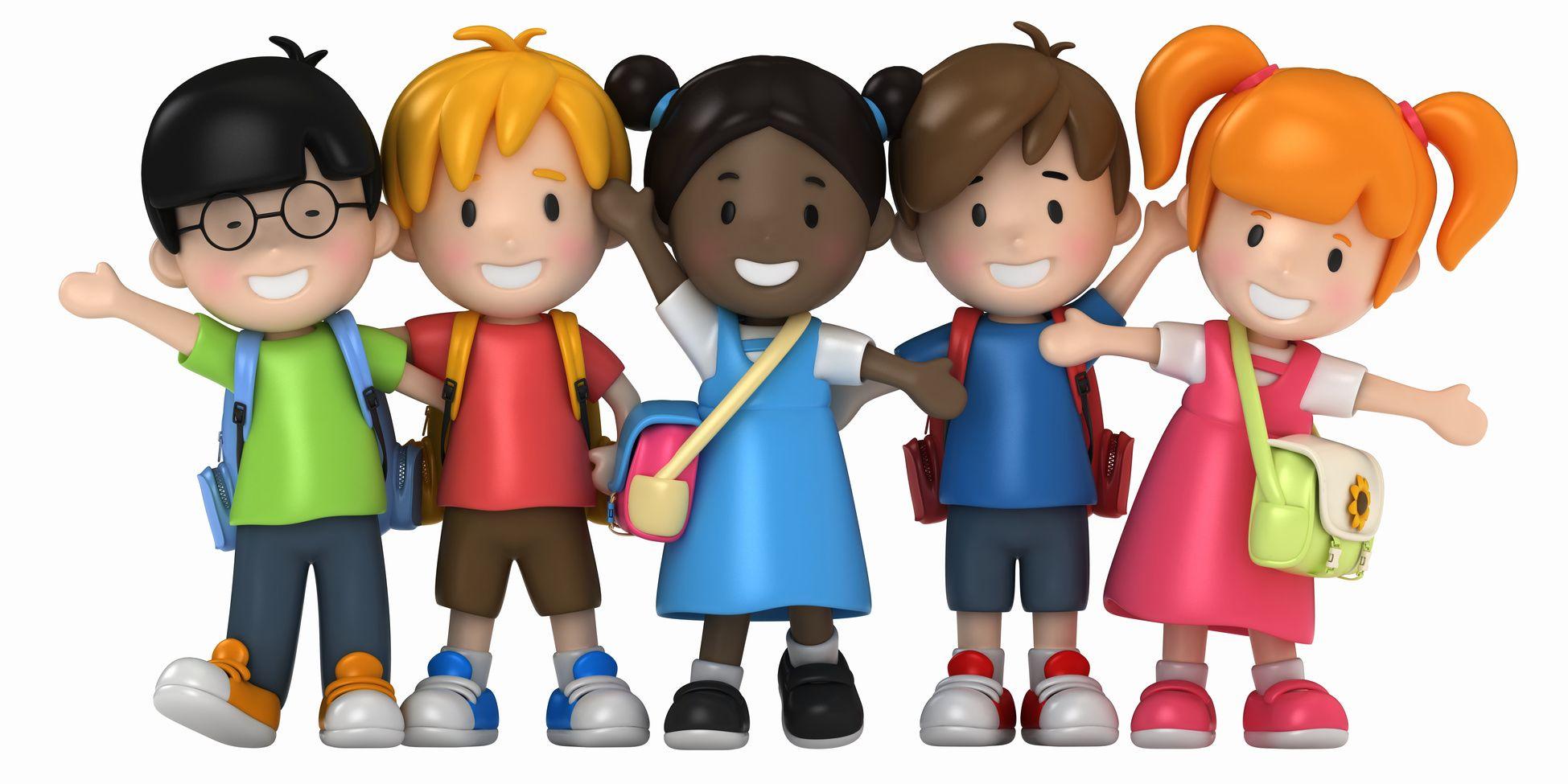 Top10 des meilleures applications enfant de l 39 ann e 2013 enfants children pinterest - Dessin groupe d enfants ...