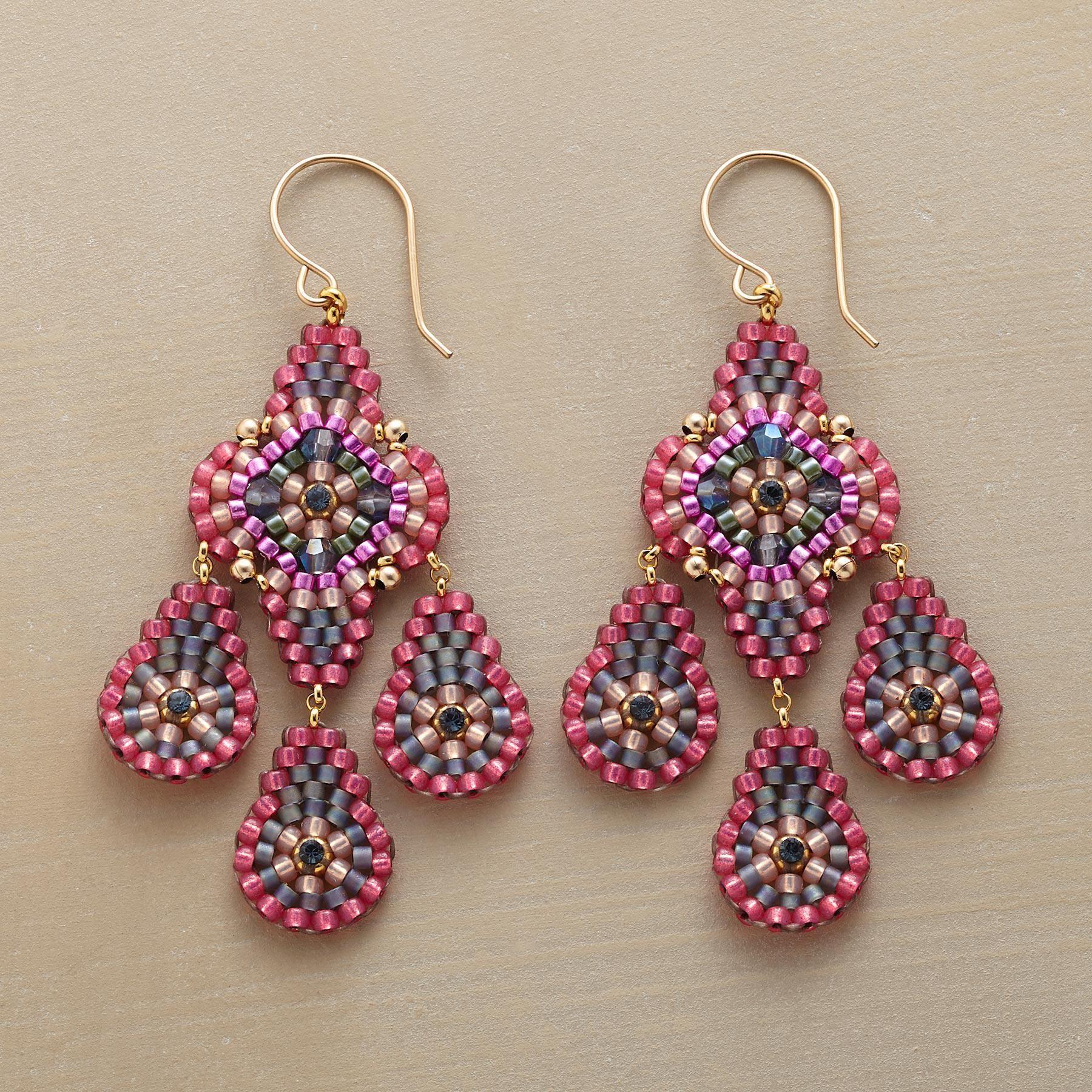 Unique decoration: beads, earrings 92