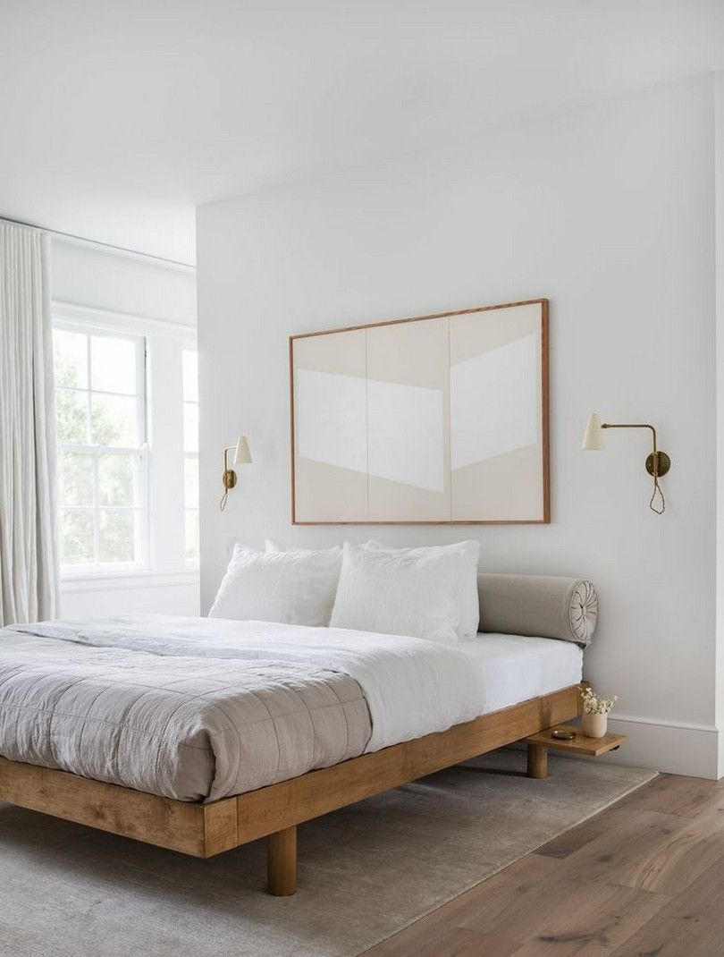 15 Decorating Ideas For Your Neutral Color Bedroom To Create Stylish Look Page 10 In 2020 Home Decor Bedroom Minimalist Bedroom Design Minimalist Bedroom