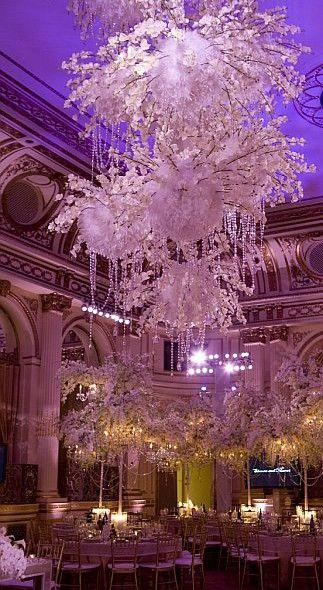 David Tutera Elegant Crystal Event Gavergara Weddings