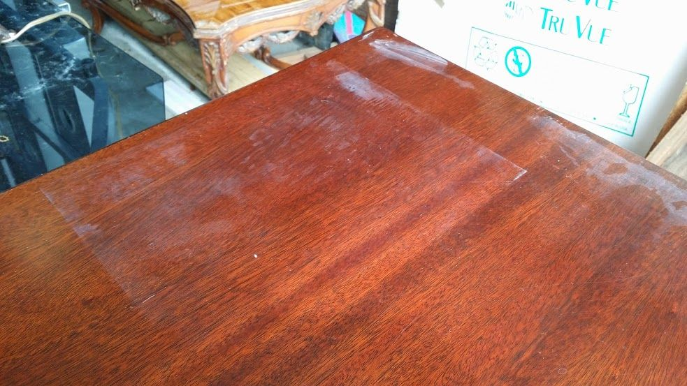 removing water stains from wood Remove water rings