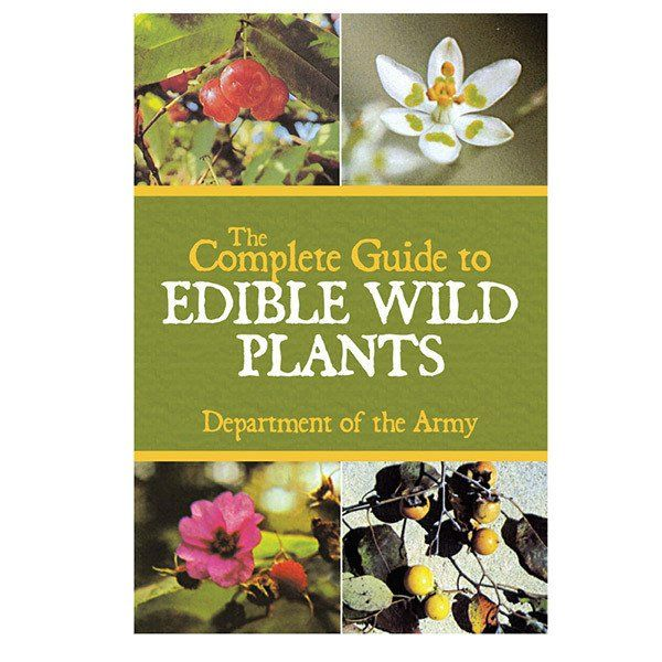 Book The Complete Guide To Edible Wild Plants Edible Wild Plants