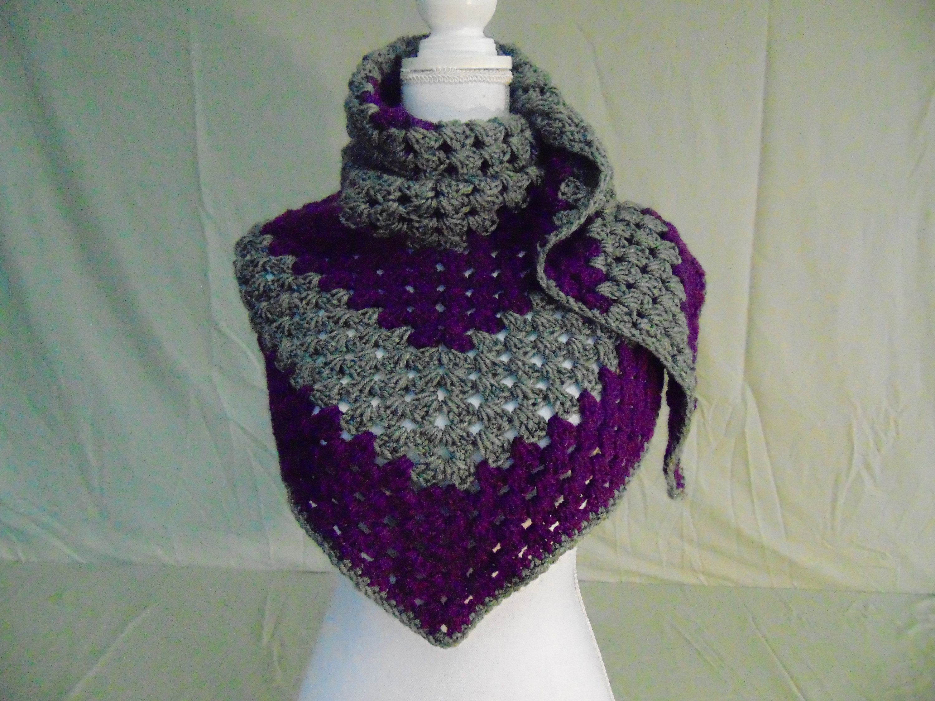 Crocheted Gift Ideas for Women-Crocheted Wrap/Cowl/Scarf ...
