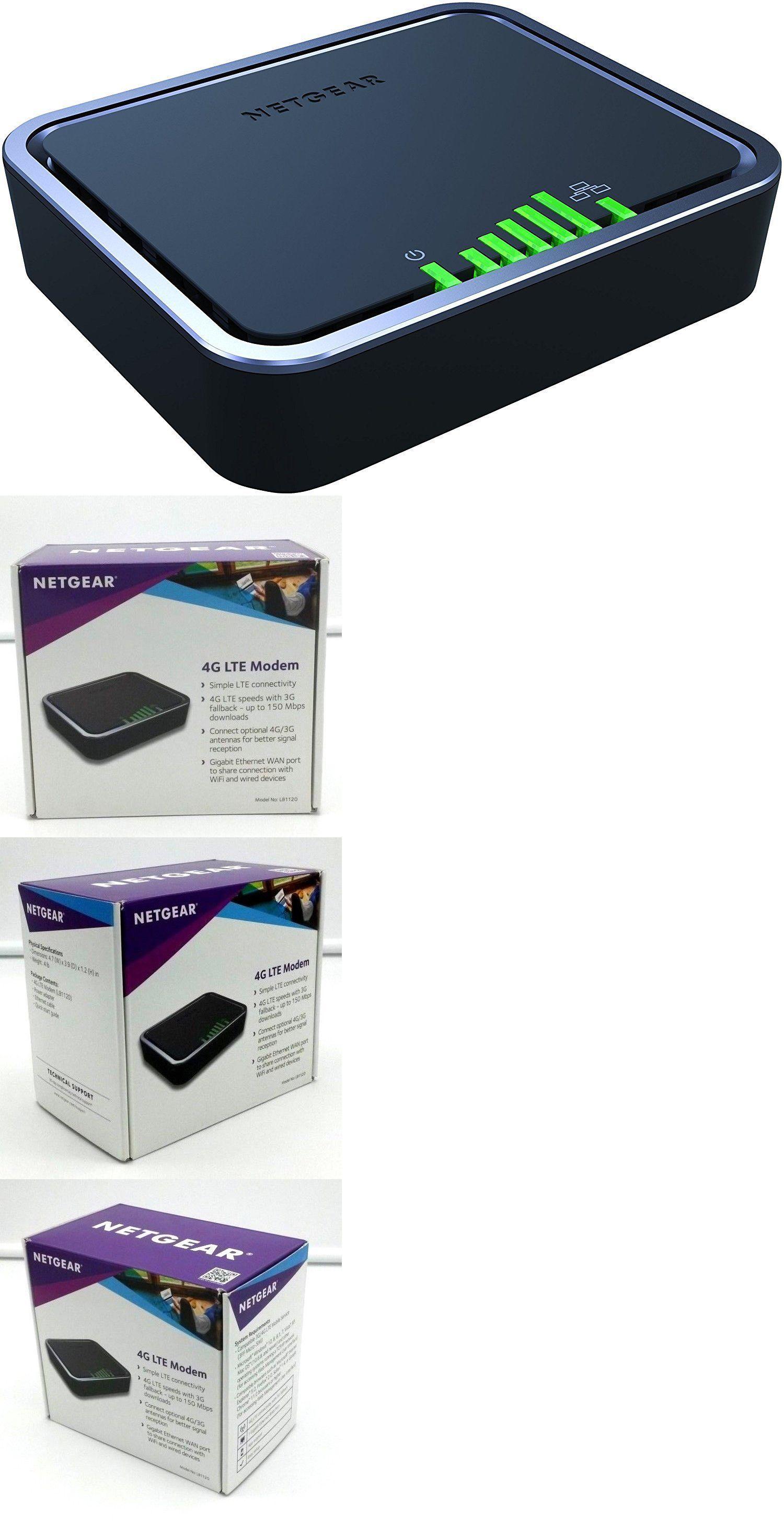 Modem-Router Combos 101270: Netgear Lb1120 4G Lte Modem W