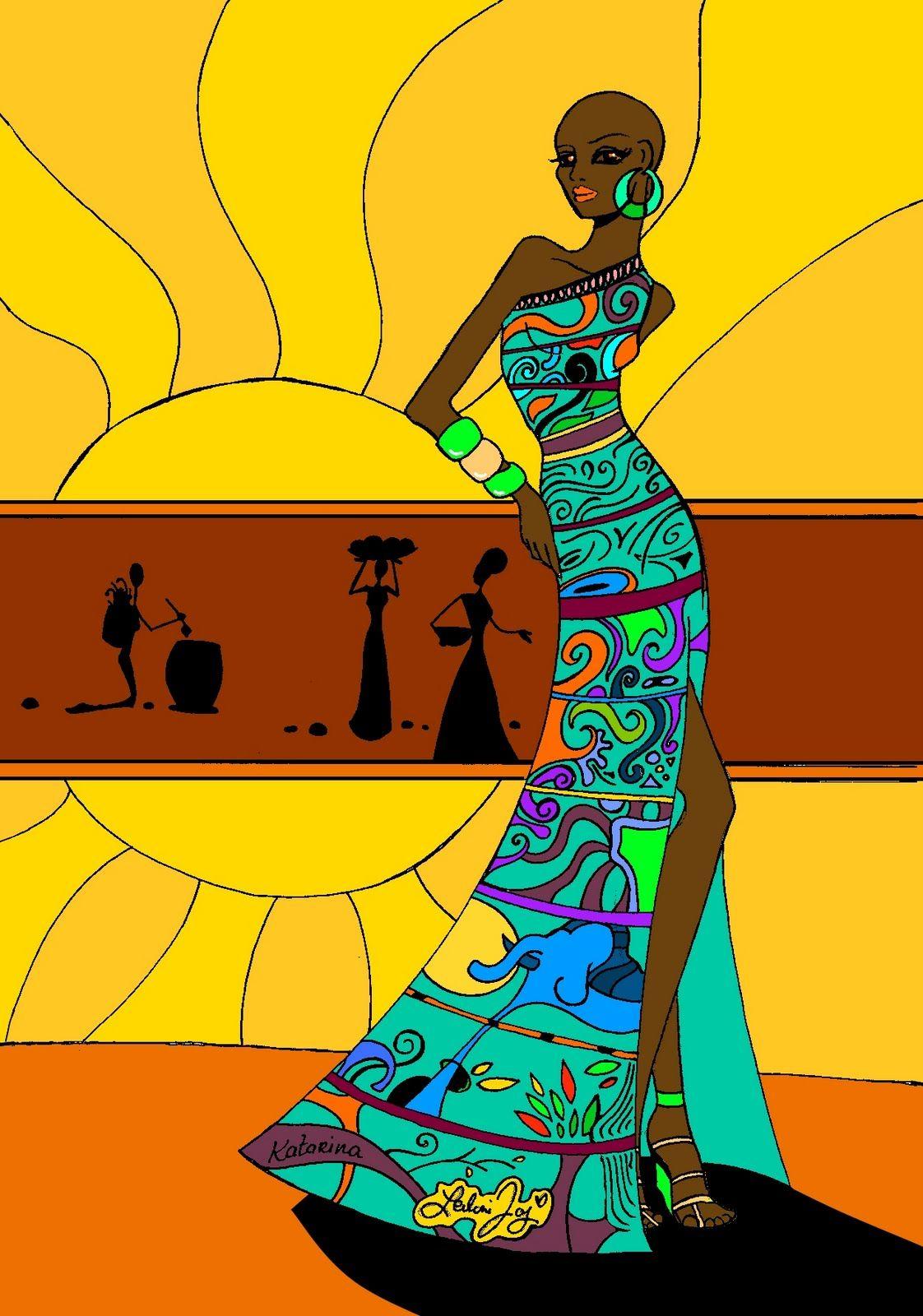 The Art of Leilani Joy | Bathroom ideas | Pinterest | African art ...