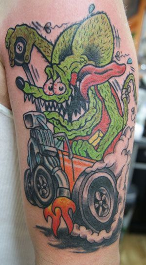 rat fink tattoos tattoos pinterest rat fink rats and tattoo. Black Bedroom Furniture Sets. Home Design Ideas