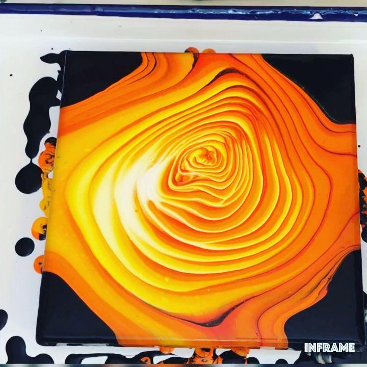 Photo of Fluid Acrylic Painting Video