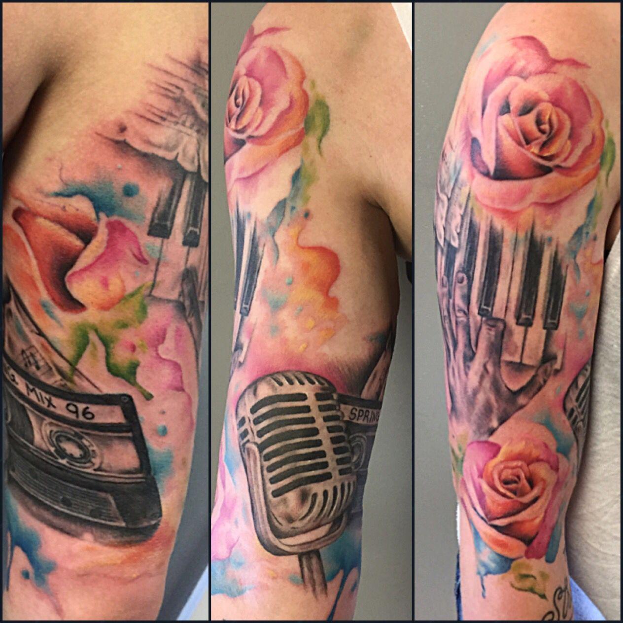 Tattoo Idea Paint Splatter Tattoo Splatter Tattoo Abstract Tattoo