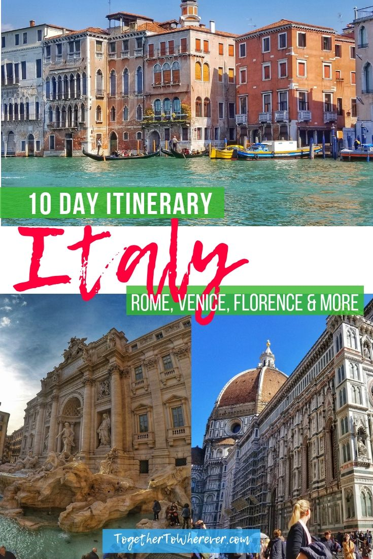 , Italy Travel Itinerary for 10 days. Trips include Rome, Venice, Florence, and Pisa. Here's how to see the best of Italy with tips on budget savings an…, My Travels Blog 2020, My Travels Blog 2020