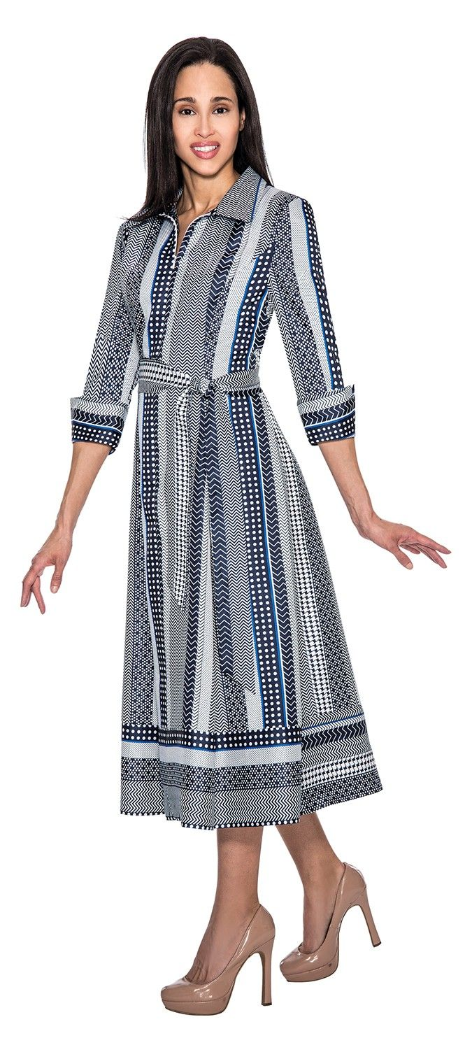 Stunning dress by in a print shantung fabric. Great church dress, work dress or special occasion dress. Available in missy and plus sizes.