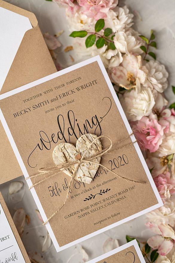 wedding invitations elegant / classic 100/cg/z Wedding