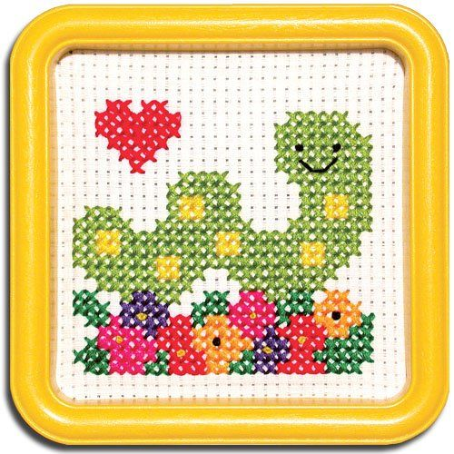 Easystreet Little Folks Butterfly Counted Cross-Stitch Kit