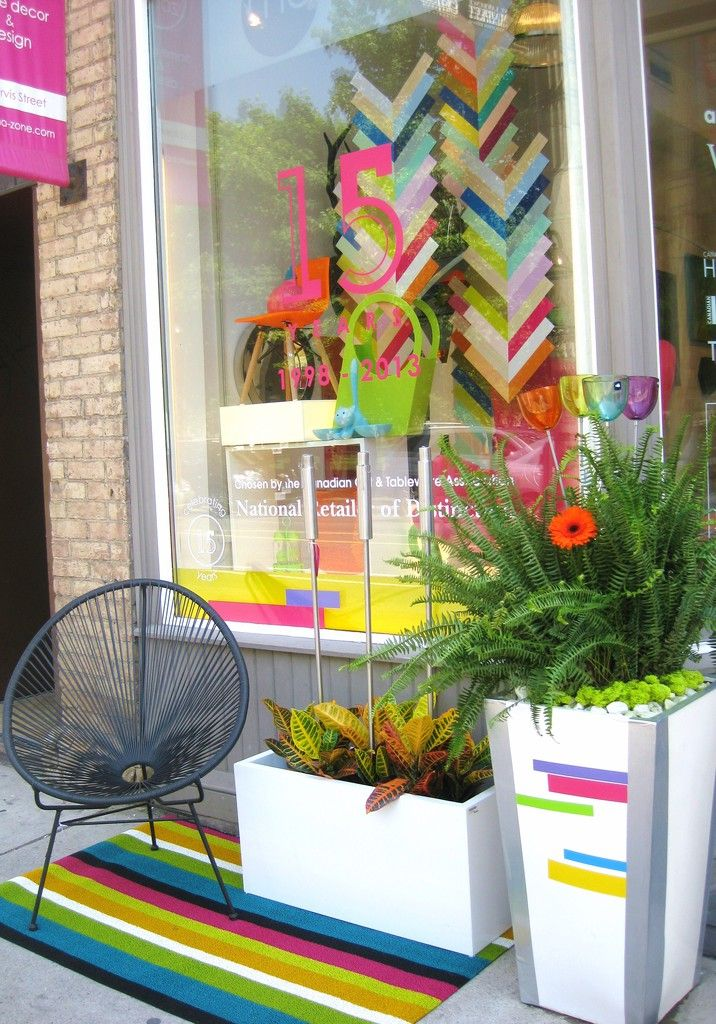 ma zone home decors 15th anniversary window display - Home Decor Toronto