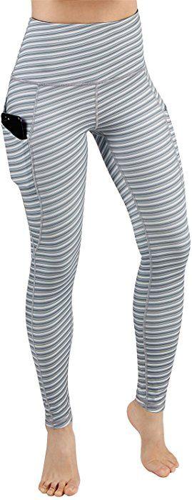 074242e7c71777 Amazon.com: ODODODOS High Waist Out Pocket Printed Yoga Pants Tummy Control Workout  Running 4 Way Stretch Yoga Leggings,SketchLine,Medium: Clothing