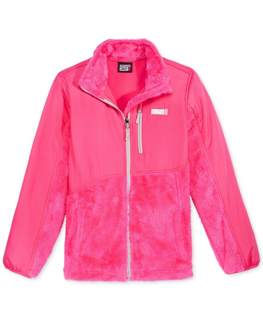 degrees zipup fleece jacket little girls x products