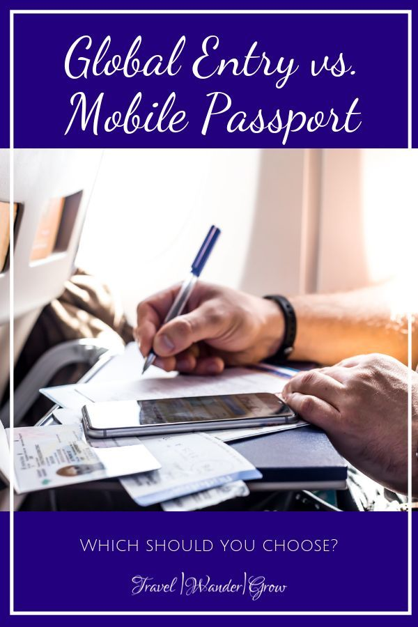 Mobile Passport vs. Global Entry Which is Best