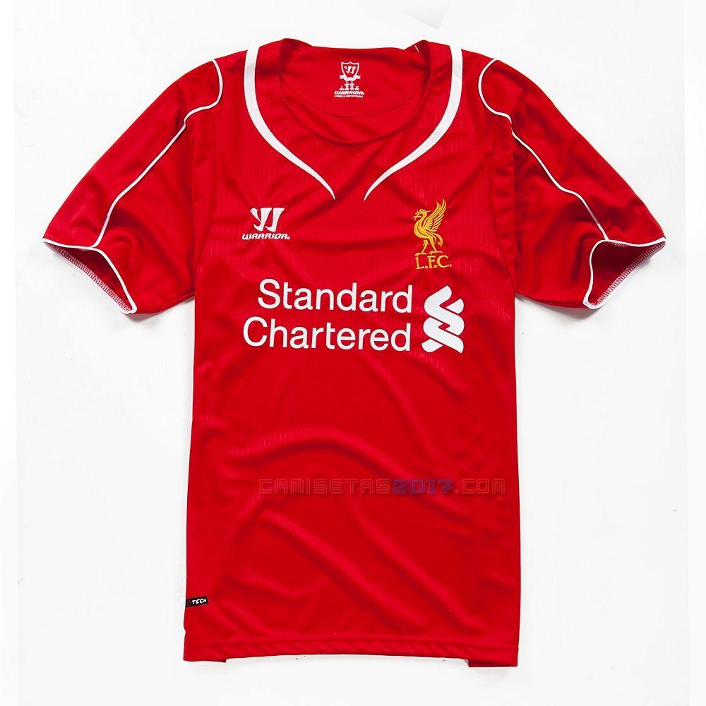 833d2d5fc Camiseta Liverpool 2014 2015 primera Liverpool
