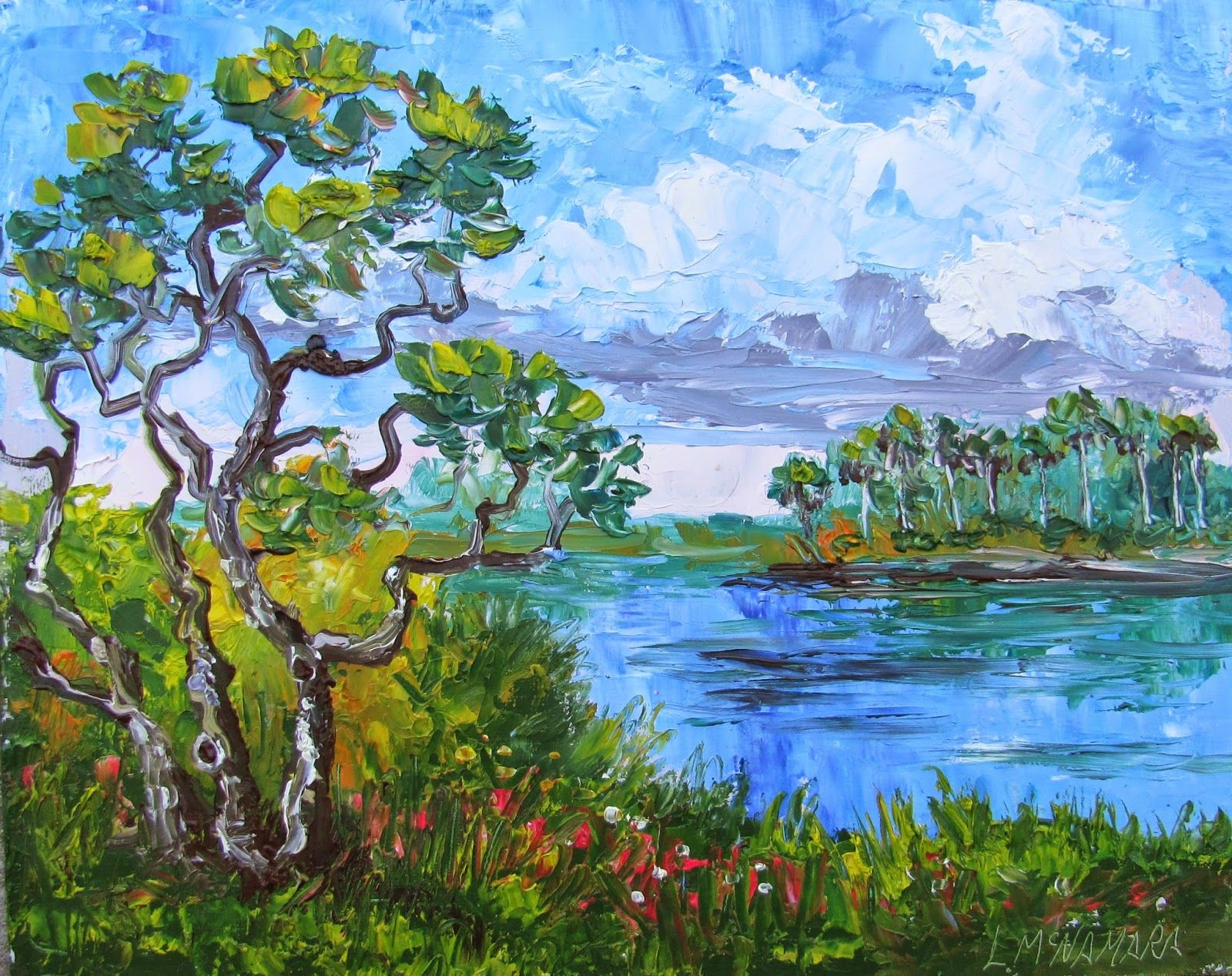 Storm Clouds Over The Savannas: Lori McNamara.