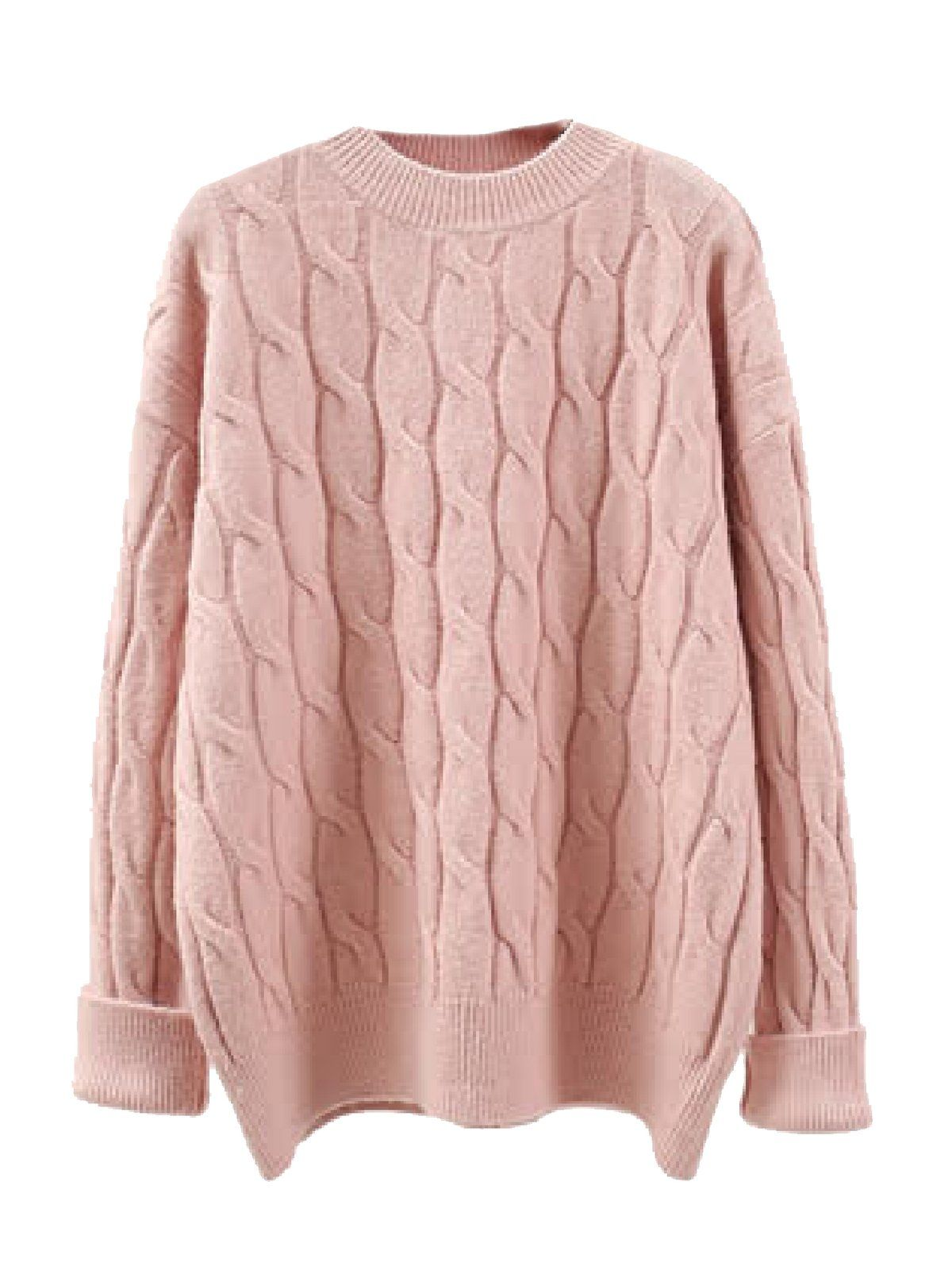 bde1b9baa78f08 Edie' Cable Knit Crewneck Sweater (4 Colors in 2019   Fashion ...