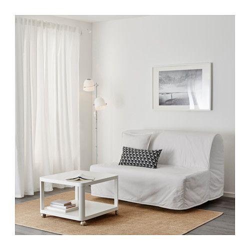 Lyksele Slaapbank Ikea.Lycksele Lovas 2 Zits Slaapbank Ebbarp Zwart Wit Home Slaapbank