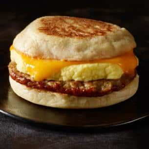 Sausage Cheddar Egg Breakfast Sandwich Starbucks Coffee Company Sandwiches Egg And Cheese Sandwich Starbucks Breakfast