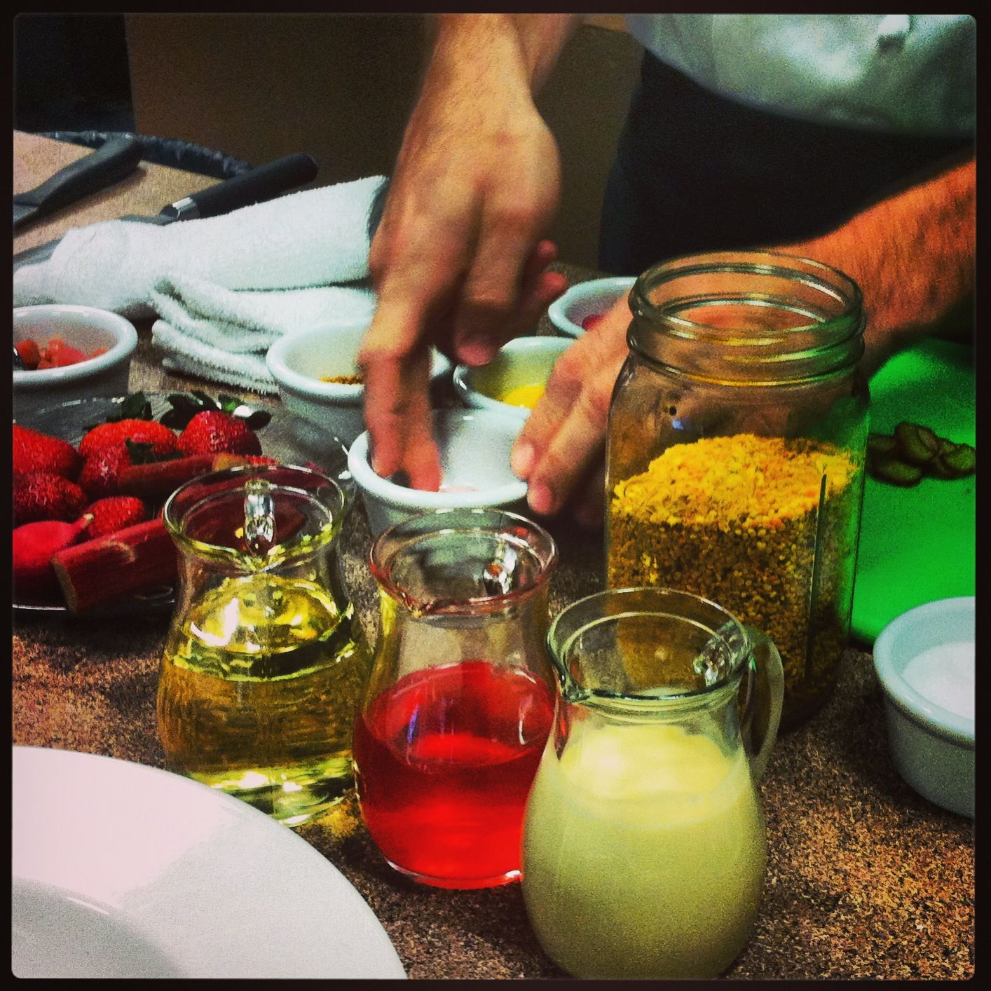 Chef Mark's Bee Pollen Vinaigrette is the bee's knees! Click the link to learn how to make it.