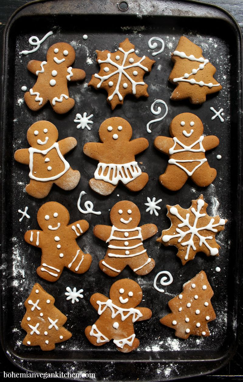 Why You Need to Make Vegan Gingerbread Cookies with Your Kids