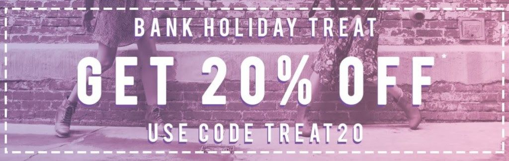 20% Off Everything Including Sale Styles, Code: TREAT20  #fashion #shopping #clothing