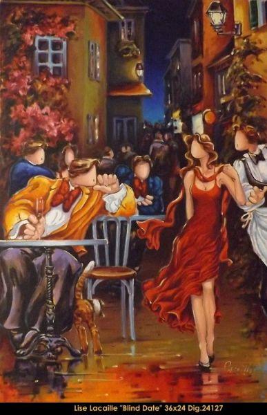 Lacaille Lise Le Balcon D Art Galerie D Art Montreal