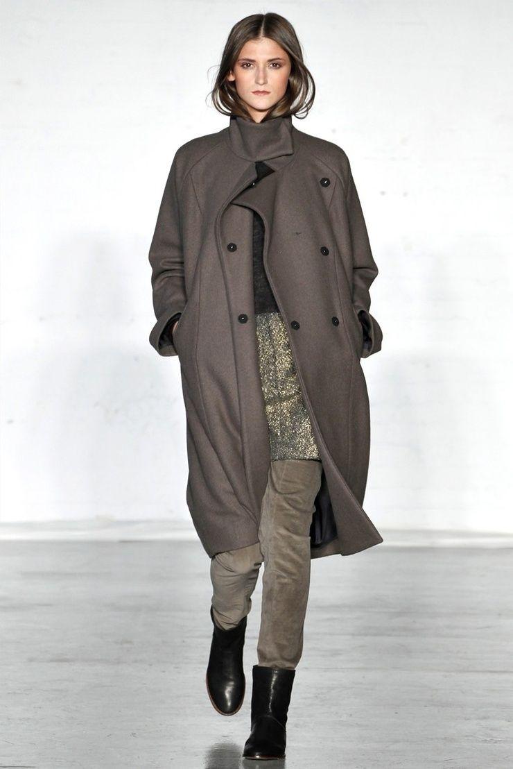 Zero+Maria Cornejo, fall 2011...love that coat