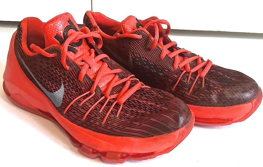 pretty nice d5cf0 7596a Kevin Durant KD Nike sneakers size 6 Y Orange Red Black Silver  fashion   clothing  shoes  accessories  kidsclothingshoesaccs  boysshoes  ad (ebay  link)