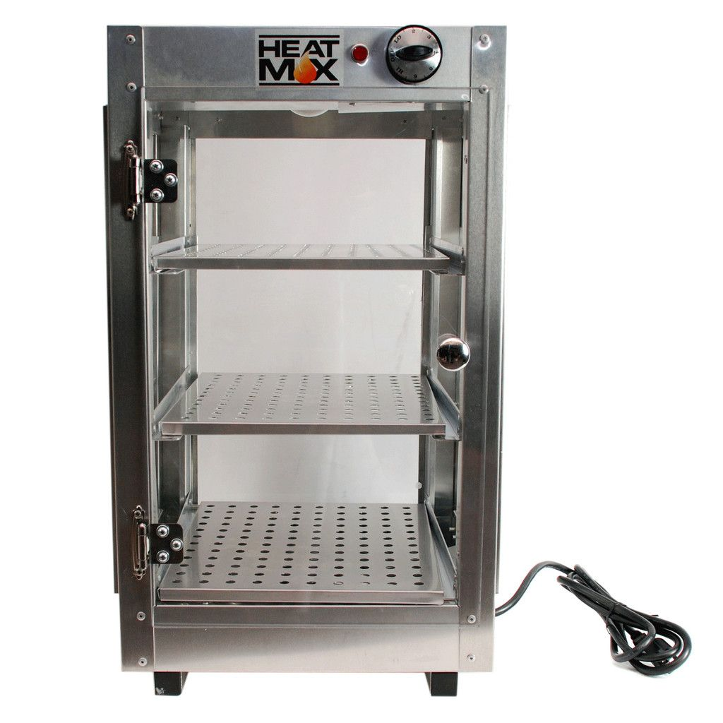 Commercial 14 X 14 X 24 Countertop Food Pizza Pastry Warmer