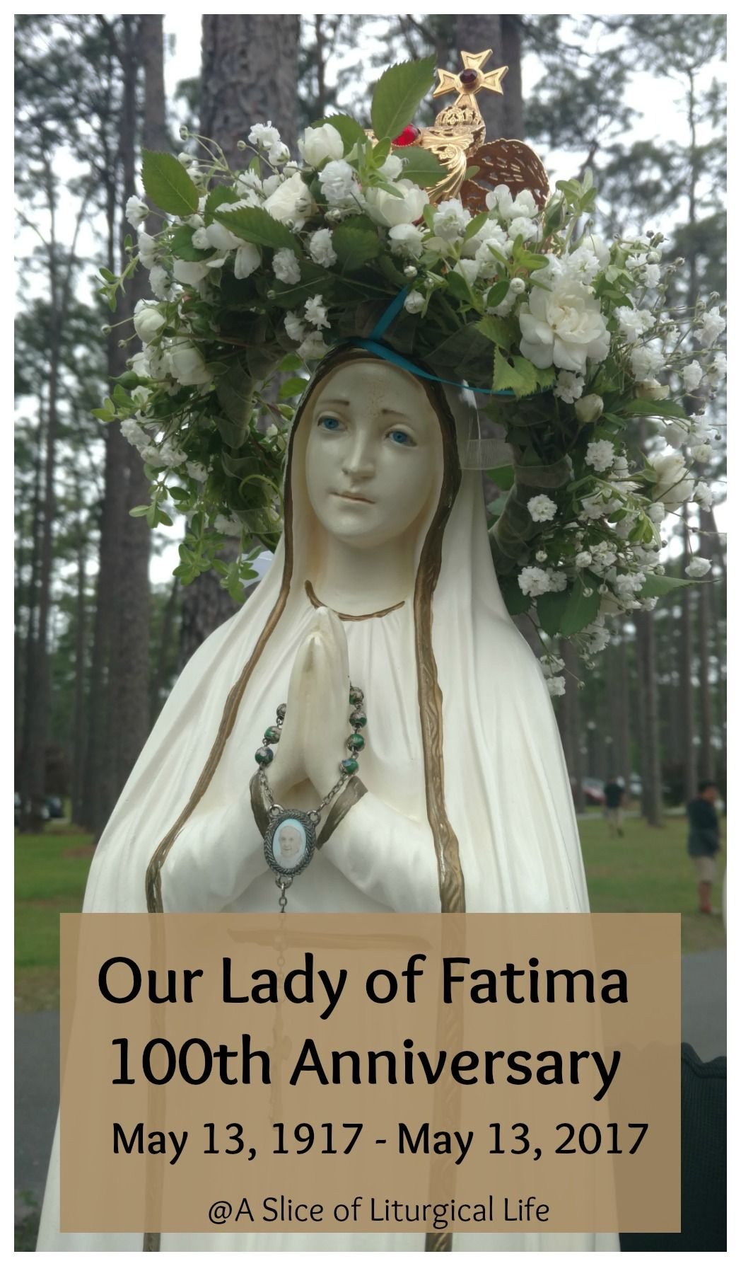 Our Lady Of Fatima 100th Anniversary And Canonization Of 2 New Saints Lady Of Fatima Fatima New Saints
