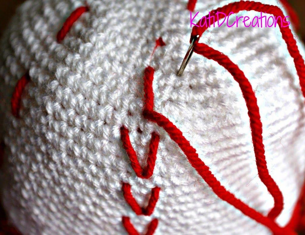 Crochet Baseball Hat/Baseball Bat | KatiDCreations | Crochet ...